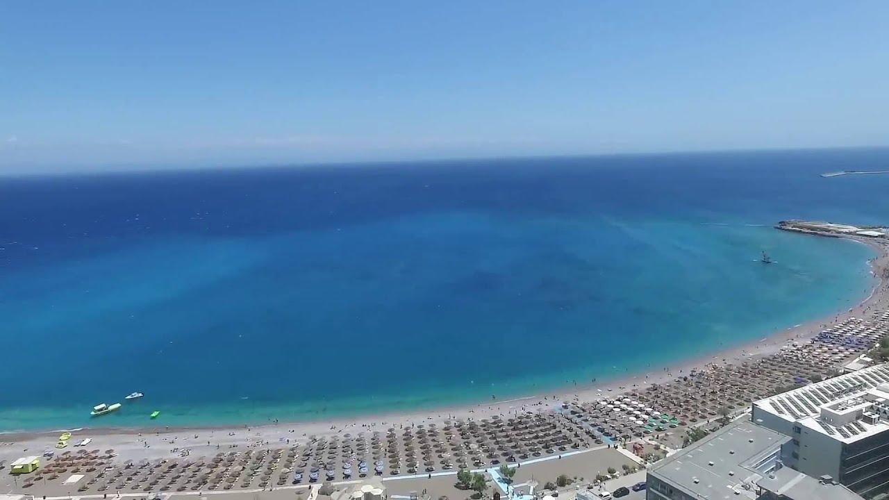 AMAZING Rhodes Faliraki Blue Cave Greece Party DJI 2016 Sea Eden