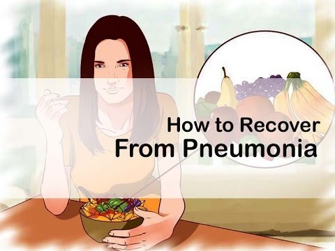 There are 3 ways to recover from pneumonia