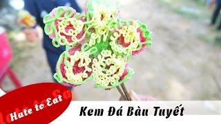 Kem Đá Bàu Tuyết - Vietnamese ice cream, bingsu