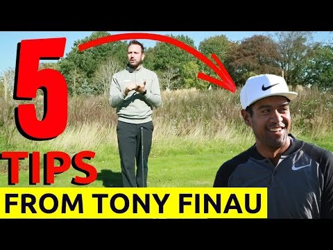 GOLF SWING TIPS - 5 key swing tips to learn from TONY FINAU