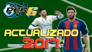 PES 6 ACTUALIZADO 2017 - INFINITTY PATCH 2017 Gameplay (Incluye MODO ONLINE)