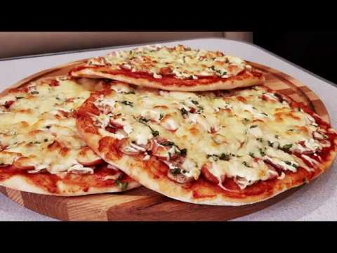 Самое любимое тесто для самой нежной пиццы!Pizza dough!