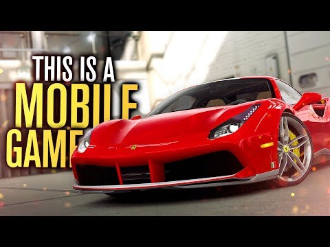THIS IS A MOBILE RACING GAME?!