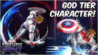 CAPTAIN AMERICA CAN DO THIS ALL DAY!! ENDGAME UPDATE - Marvel Future Fight