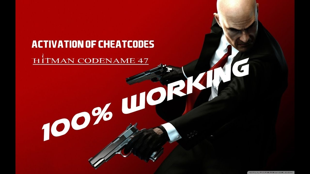 how to activate cheats in hitman codename 47 game