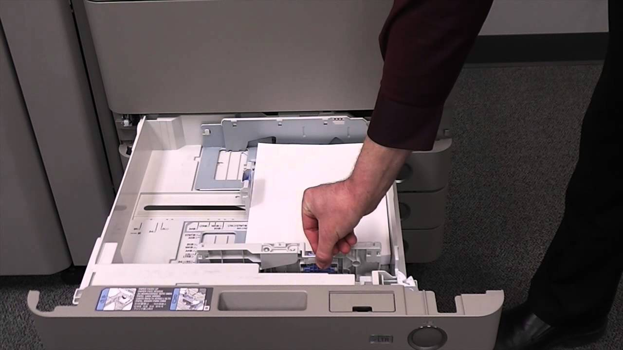 Changing Paper Tray Size