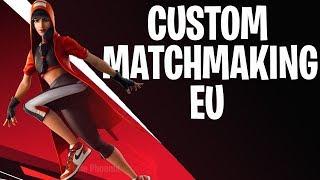 CUSTOM MATCHMAKING EU | FORTNITE LIVE |  Girl Gamer | CODE IS IN CHAT!
