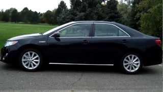 видео Toyota Camry Hybrid 2012