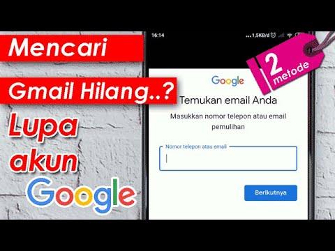 2 Cara Mencari Akun Gmail Yang Lupa Menemukan Akun Google Hilang Youtube