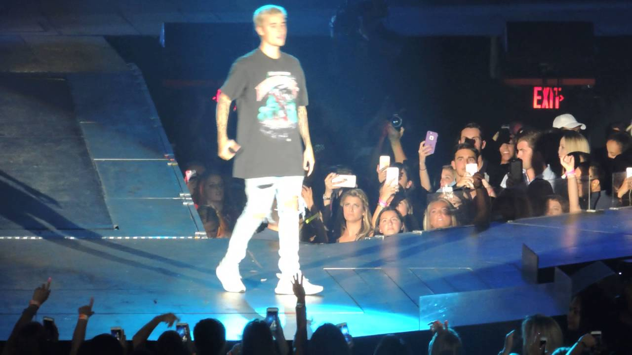 Justin Bieber No Sense Madison Square Garden July 18 2016 Youtube