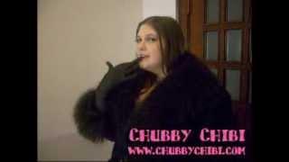 Chubby Chibi - BBW - Black Lingere
