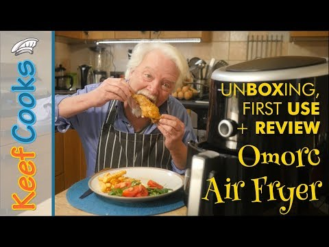 omorc-air-fryer-|-unboxing,-first-use-and-review