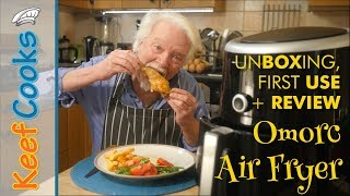 Omorc Air Fryer | Unboxing, First Use and Review