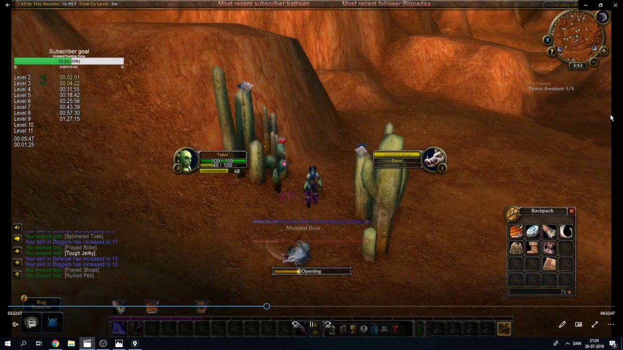 WoW Classic Beta Durotar 1-12 guide in details, learn how to get ahead of  everyone else on launch!