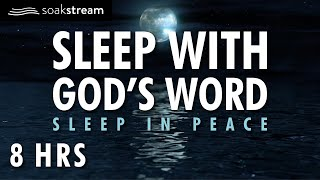 SOAK IN GOD'S PROMISES BY THE OCEAN | SLEEP WITH GOD'S WORD | 100+ Bible Verses For Sleep