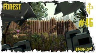 Let's Play The Forest #46 Eine Tür für das Fort
