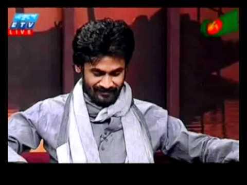 Sheikh Rana (Lyricist of Pori & Maar Ghurie-world cup theme song) Live at Ekhushey Shondha