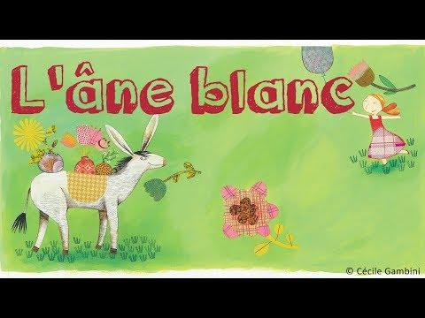 Henri Dès chante - L'âne blanc - chanson pour enfant