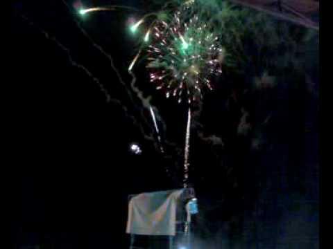Fireworks Display at Northern Luzon IGLESIA NI CRISTO 95th Anniversary Celebration