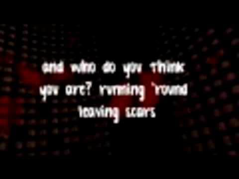 FULL Jar Of Hearts (karaoke instrumental) by Christina Perri with on screen lyrics final (Part 1)