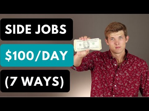 7 Side Jobs To Make Extra Money (2019)