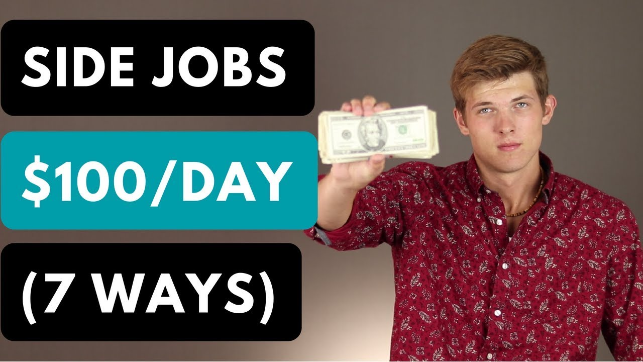 7 Side Jobs To Make Extra Money (2019) 1