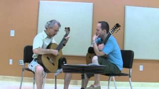 Denis Azabagic teaches Study in B min, no. 5 by Fernando Sor