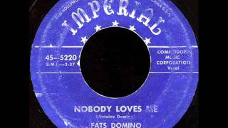 Watch Fats Domino Nobody Loves Me video