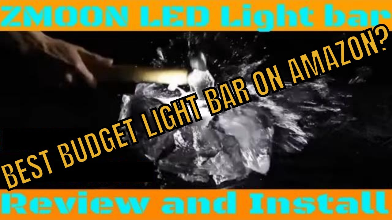 Step by Step LED light bar wiring and install. ZMOON light bar review -  YouTubeYouTube