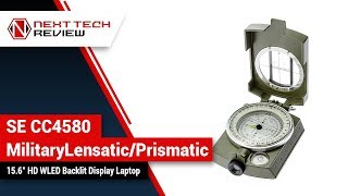 SE CC4580 Military Lensatic Prismatic Sighting Compass with Pouch Product Review  – NTR