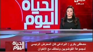 فيديو.. مصطفى بكري: موجة غضب في البرلمان ضد البرادعي