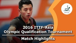 2016 Asia Olympic Qualification Highligh...