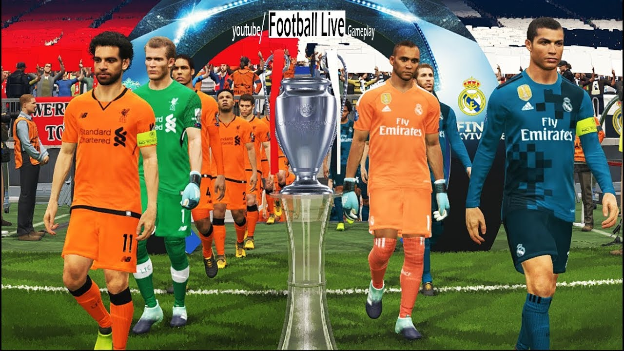 PES 2018 | Real Madrid vs Liverpool FC | Final UEFA Champions League - UCL