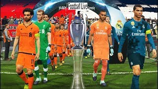 PES 2018 | Real Madrid vs Liverpool FC | Final UEFA Champions League - UCL | Gameplay PC