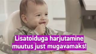 Video: Tidy Tot põll ja kandik komplekt