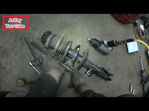 Замена передних амортизаторов, хендай солярис, своими руками #ремонтотпервоголица #Автосервис #AsKey