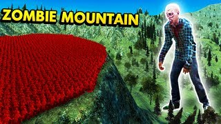UEBS - THE MASSIVE ZOMBIE MOUNTAIN! (Ultimate Epic Battle Simulator / UEBS Funny Gameplay)