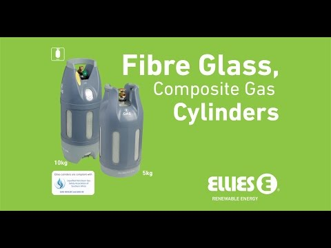 Fibre Glass Composite Gas Cylinder by Ellies