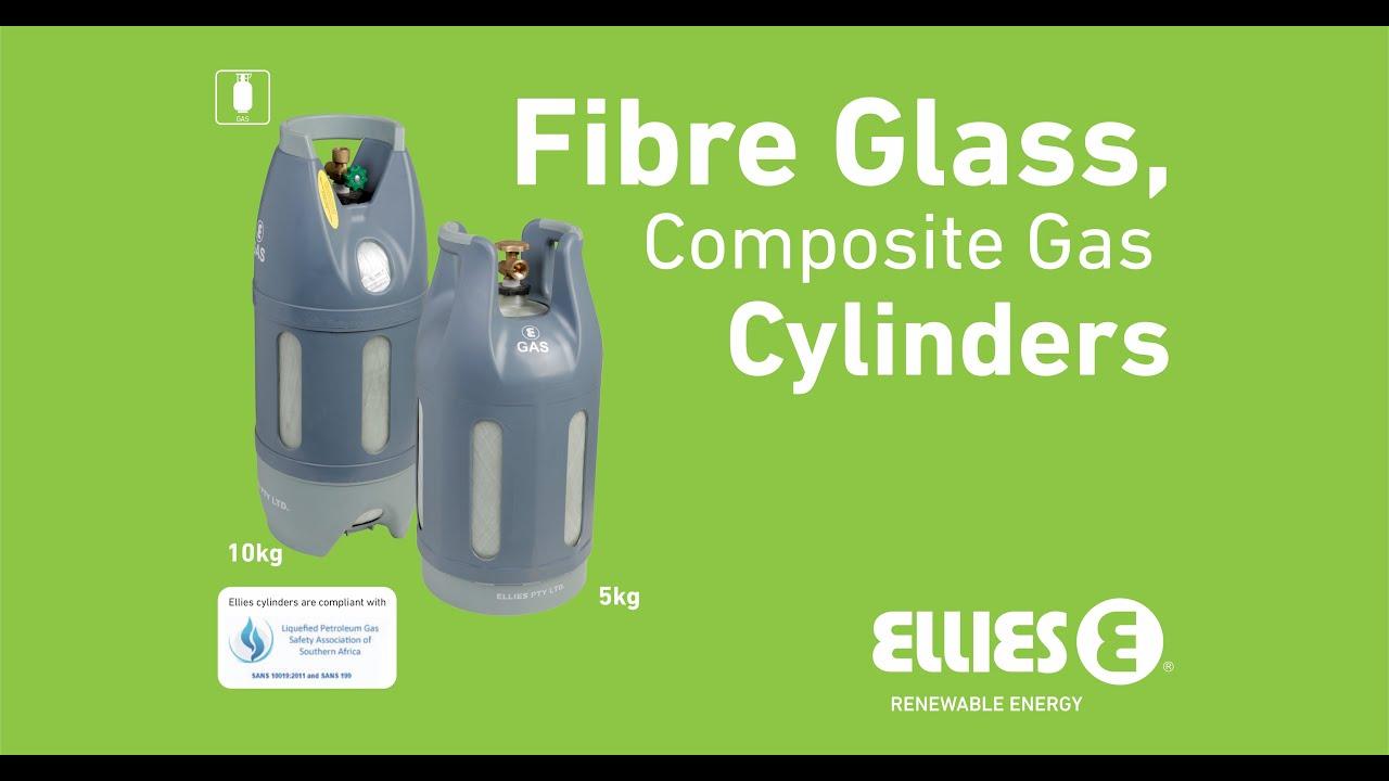 Fibre Glass Gas Bottle