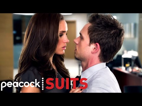 Mike and Rachel's First Kiss | Suits