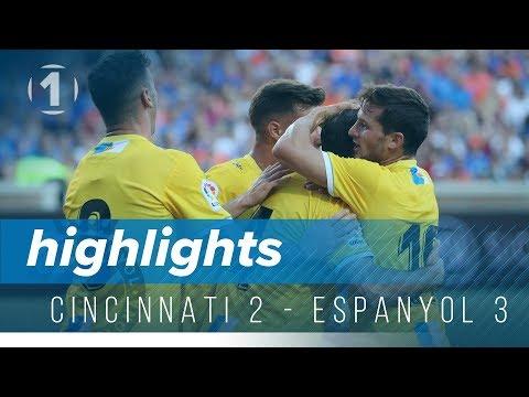 Resum Cincinnati 2 - Espanyol 3
