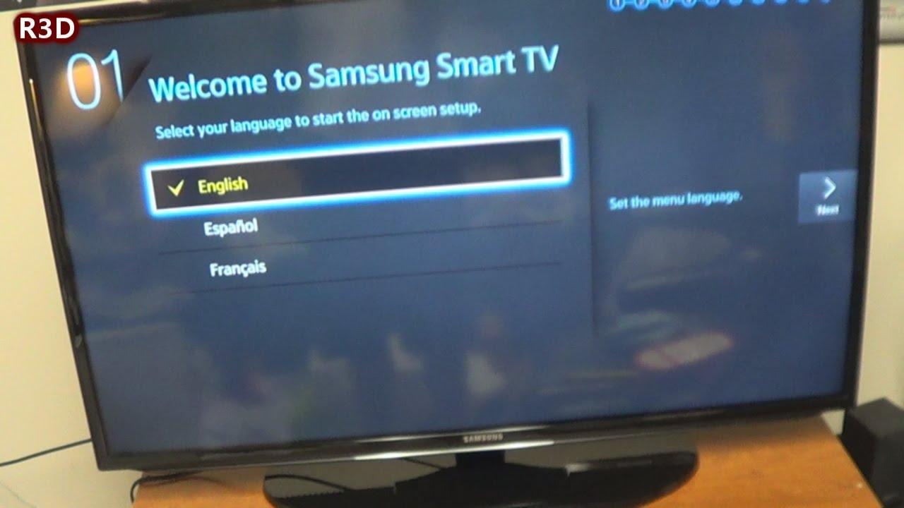 Samsung 40 Inch LED Smart HDTV  UN40H5203AF Unboxing  YouTube