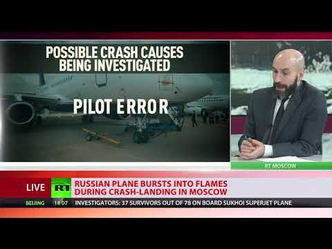 41 Bodies Recovered From Wreckage Of Aeroflot Crash-landed Plane In Moscow Airport