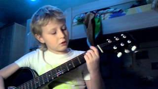 Видео урок игры на гитаре песня пачка сигорет