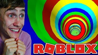 MEGA SLIDE THAT LETS US EAT IN ROBLOX!
