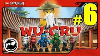 LEGO Ninjago WU-CRU Прохождение Игры Лего Ниндзяго на русском - 6 серия - КРАСНЫЙ НИНДЗЯ