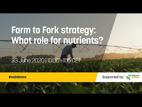 Farm to Fork strategy: What role for nutrients?