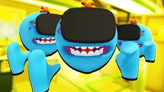 vuclip MR. MEESEEKS ARMY! - Rick and Morty: Virtual Rick-ality Gameplay - VR HTC Vive Pro