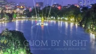 Cảnh đêm Hồ Gươm - Hồ Gươm By Night