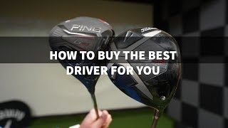 WHAT GOLF DRIVER TO BUY - THE BEST DRIVER FOR YOUR GOLF SWING